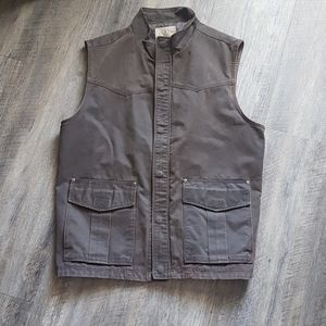 NWT North river faux leather vest